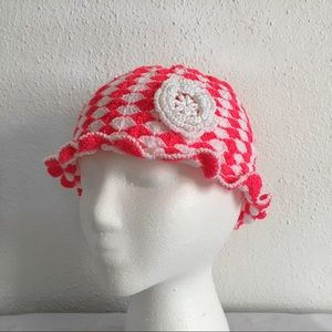 - Handmade Flower Bucket Hat